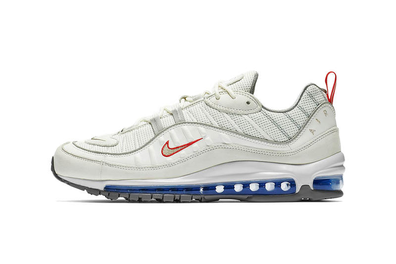 nike air max 98 summit white metallic silver footwear nike sportswear footwear