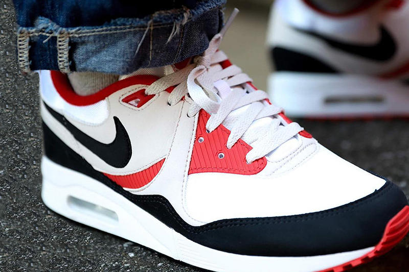 sale retailer 88705 3acbc Nike Air Max Light release date red navy white sneakers kicks retro vintage