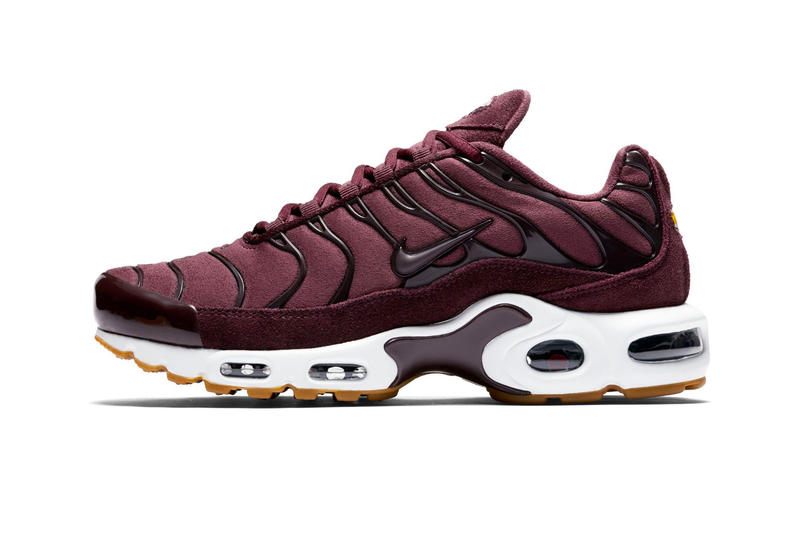 the best attitude 0de11 65428 Nike Air Max Plus SE Bordeaux Release Info Date Gum Sole sneakers kicks  shoes footwear trainers
