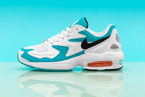 """Nike Unveils Air Max2 Light in """"Blue Lagoon"""" Colorway"""