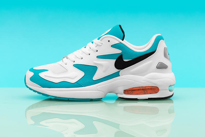 quality design 6a890 d31d5 Nike Air Max2 Light OG Blue Lagoon Sneaker Details Sneakers Trainers  Kicks Shoes Footwear. 1 of 5