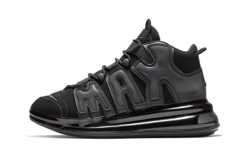 newest fccad 9c3f9 Nike Air More Uptempo 720 QS Official Look Release Info Date black