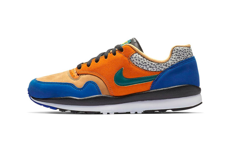 reputable site 0c6d5 6530a Nike Air Safari Sport Blue Release Info Date atmos pattern