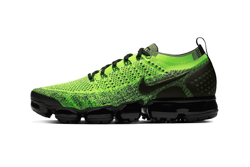 e1a5d7ac0b7 nike air vapormax 2 neon green black 2019 footwear nike running nike  sportswear volt sneakers shoes