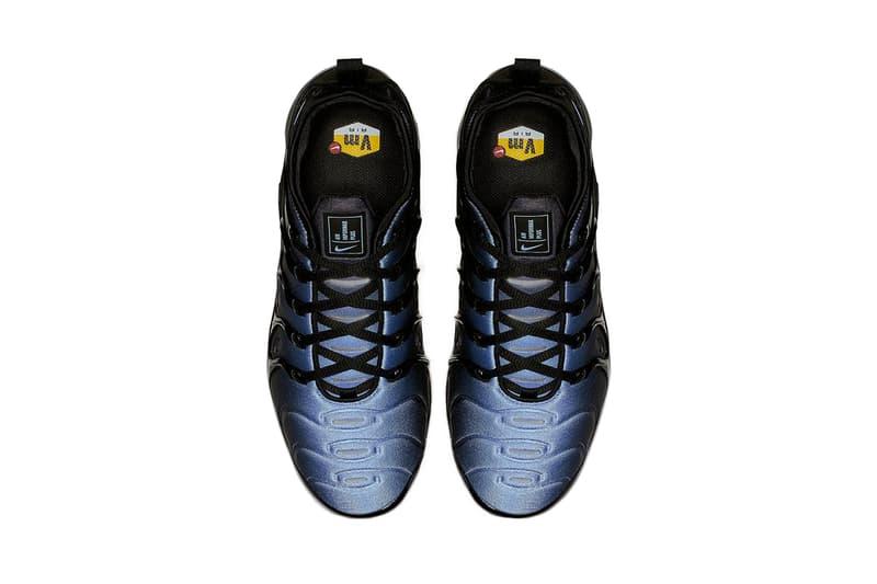 nike air vapormax plus black aluminum 2019 february footwear nike sportswear