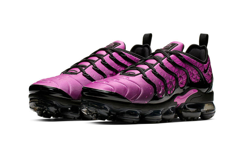 f193db6356a6 Nike Air Vapormax Plus Geometric Gradient Release Info Date Pink Black  White Grey