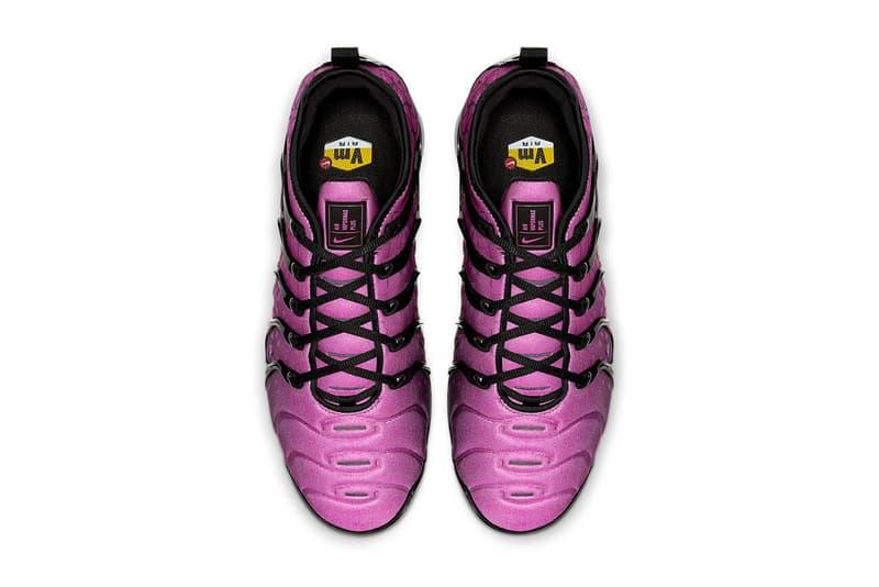 Nike Air Vapormax Plus Geometric Gradient Release Info Date Pink Black White Grey
