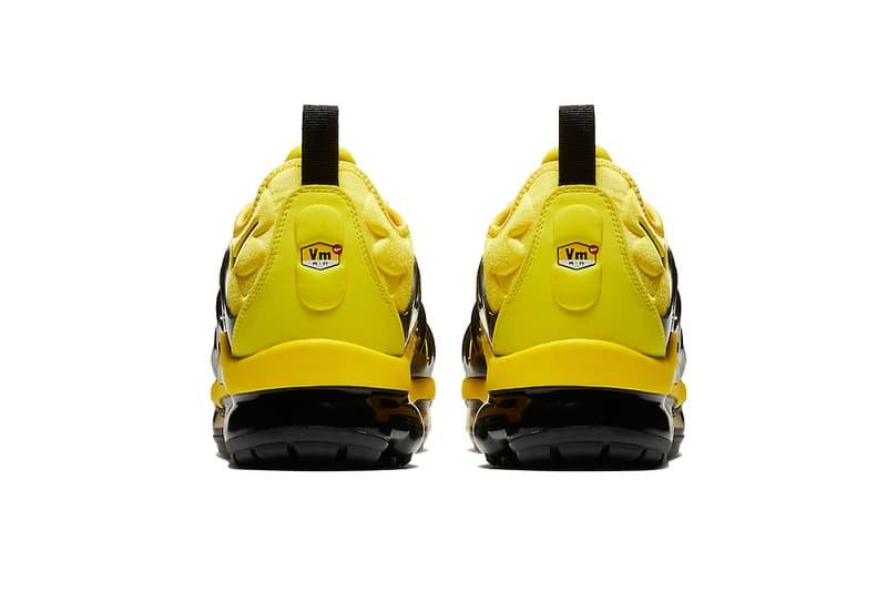 nike air vapormax plus yellow black 2019 footwear nike sportswear