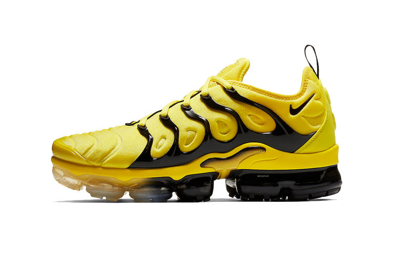 60acdeb7fb7c nike air vapormax plus yellow black 2019 footwear nike sportswear