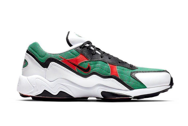 Nike Revives Air Zoom Alpha Habanero Red Lucid Green
