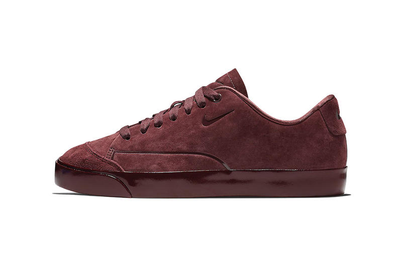 new product 820d6 f5675 Nike Blazer City Low Gets Dipped in Deep Burgundy