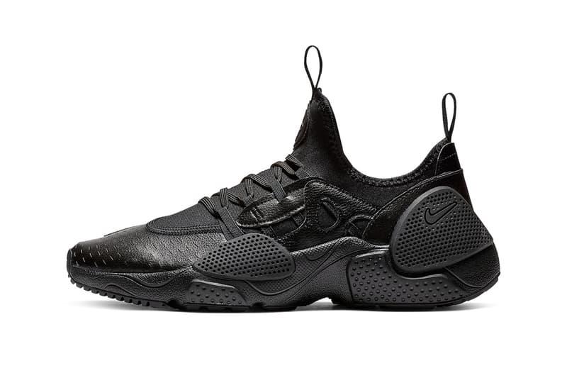 8e18c556f1b8a Nike Huarache Edge Black Leather Release info Matrix