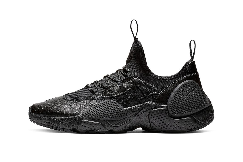 newest 1739c 569f6 Nike Huarache Edge Black Leather Release Info | HYPEBEAST