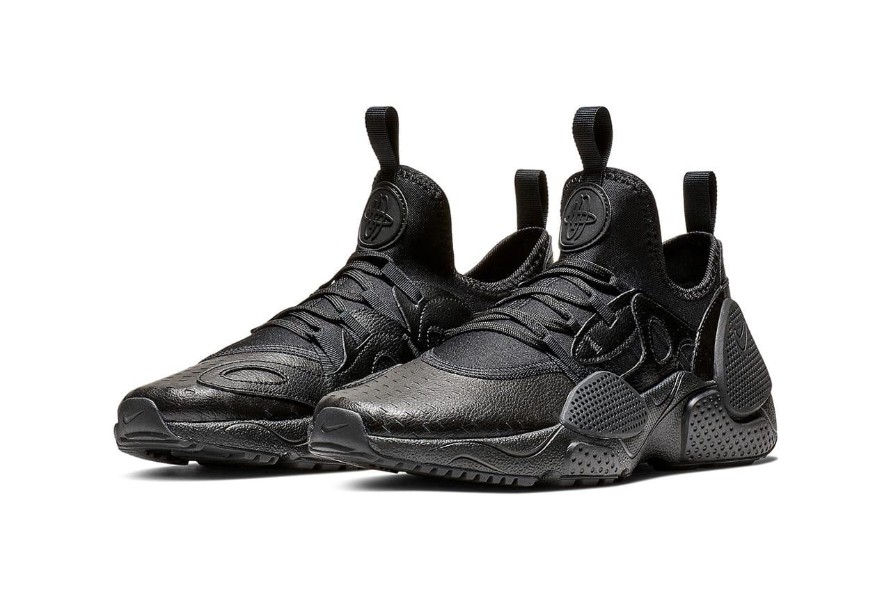 Nike Huarache Edge Black Leather