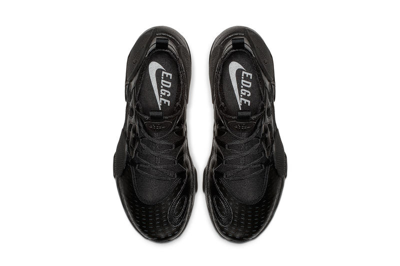 2f755eb8872 Nike Huarache Edge Black Leather Release Info | HYPEBEAST