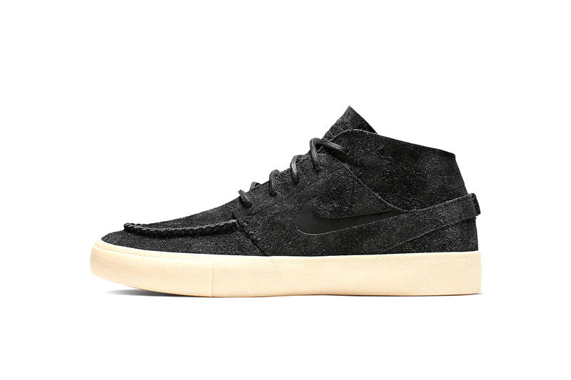 Nike SB Previews Moccasin-Inspired Janoski skateboard khaki black info images release drop