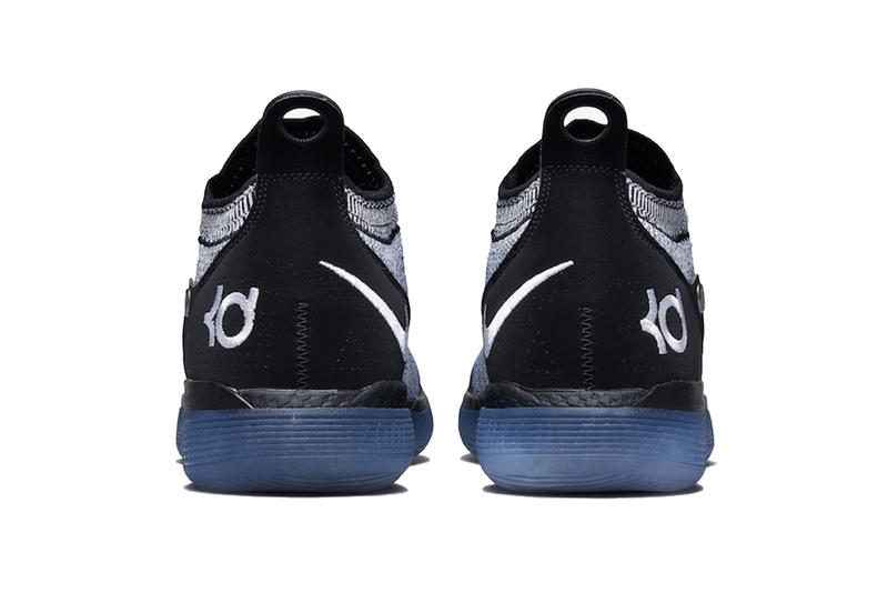 nike kd 11 black white racer blue 2019 january footwear nike basketball kevin durant