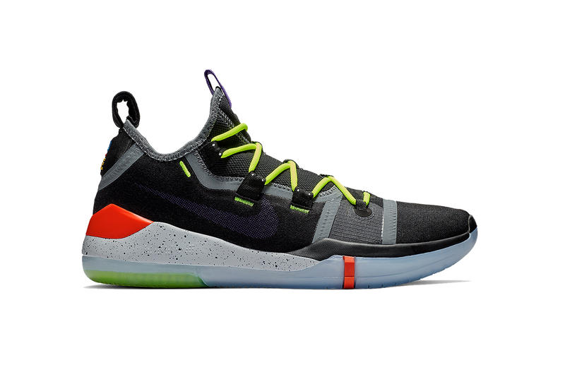 buy popular 1eb60 b05dc Nike s Kobe Line Endures With New A.D. Colorway. A mix of black, volt and  infrared.