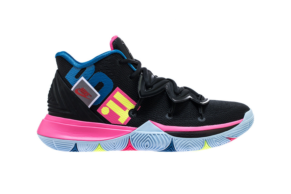 new product f9d92 15d3d Nike Kyrie 5 Honors the Swooshs Most Notable Phrase