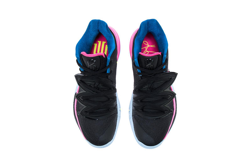 nike kyrie 5 just do it release date 2019 january kyrie irving nike basketball footwear black volt hyper pink