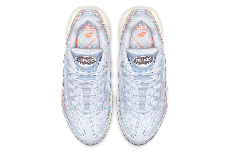 Nike Launches Women's-Only Translucent Air Max 95 drop release date info images price sportswear half blue orange