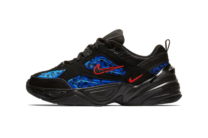 watch 09e61 d9c3b Nike M2K Tekno Gets Updated With Animal Print Panels. A combination of  neoprene and suede.