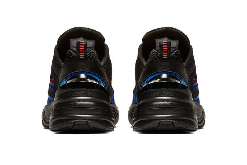 nike m2k tekno black habanero red racer blue 2019 footwear nike sportswear