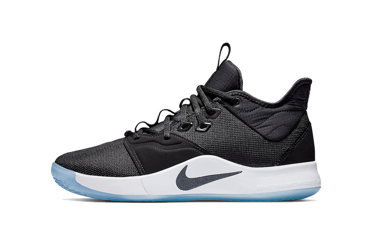 timeless design 6a7eb 0dad3 Nike PG 3 Takes the Simple Route With Latest Black   White Edition