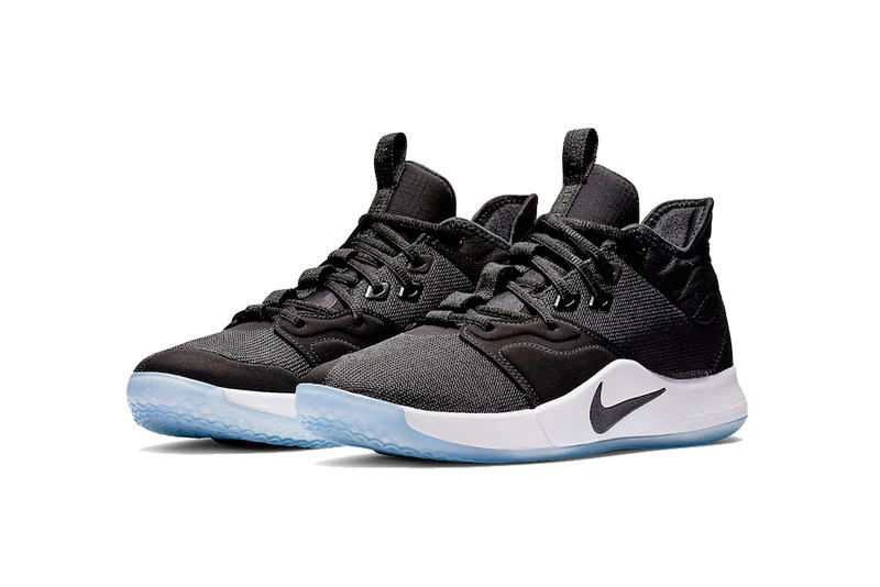 nike pg 3 black white 2019 february footwear nike basketball paul george