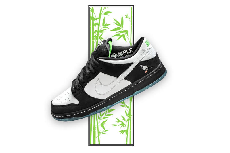 "Nike SB Dunk Low ""Panda Pigeon"" Store List jeff staple china new york city jeffstaple"