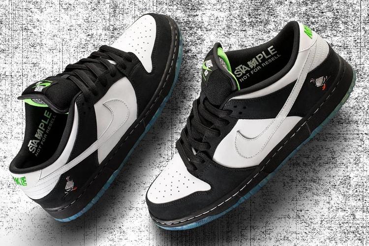 """Nike SB Dunk Low """"Panda Pigeon"""