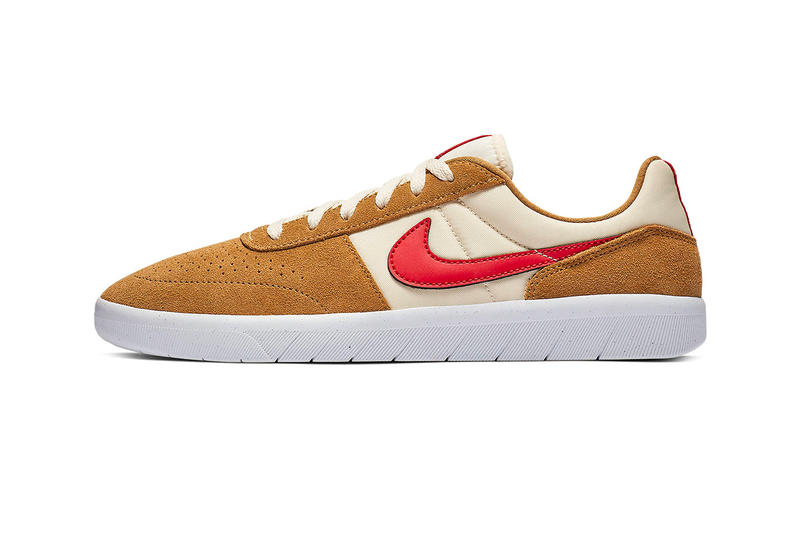Nike SB Team Classic Tom Sachs Colorway Release Golden Beige Light Cream White University Red Mars Yard 2.0