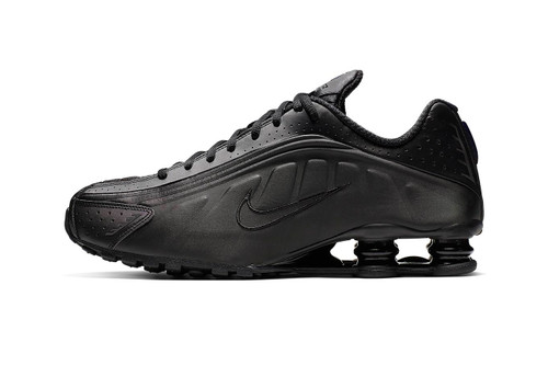 "Nike Shox R4 Gets Murdered-Out in ""Triple Black"" Colorway"