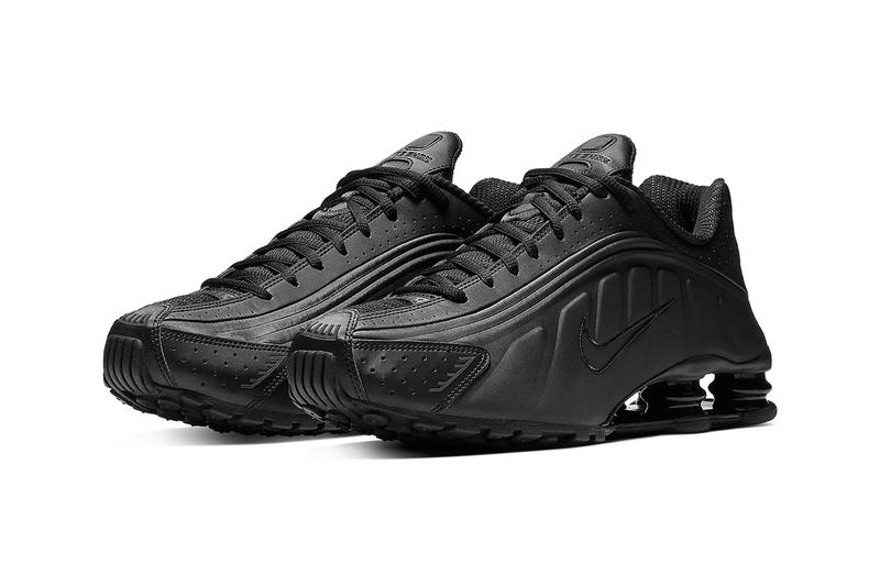 "Nike Shox R4 ""Triple Black"" Release Info pricing stockist date web store BV1111-001"