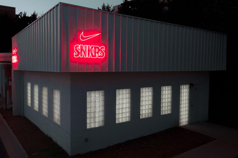 Nike's SNKRS App Atlanta Pop-Up Drops Virgil Abloh x The Ten Selection Air Force 1s Exclusive Apparel The Ten Content Studio Super Bowl LIII
