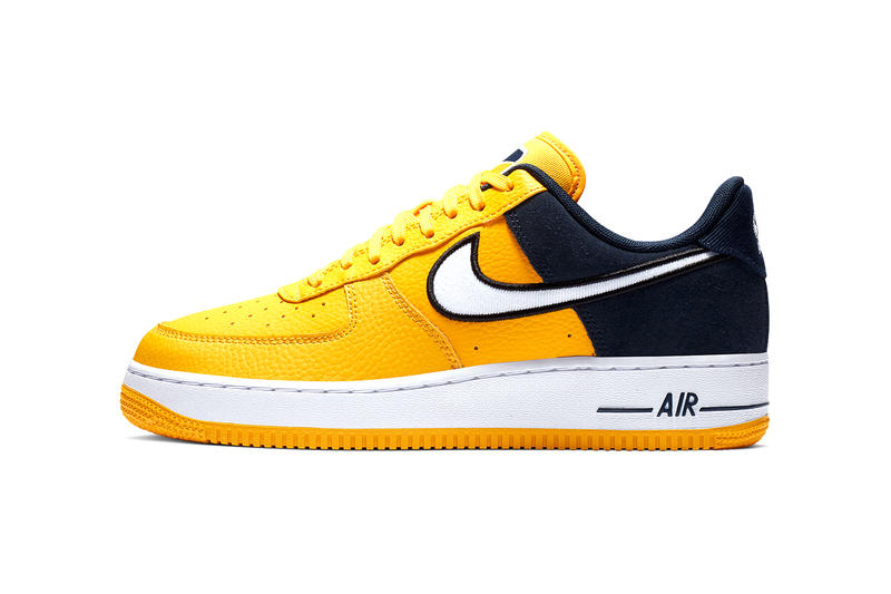 Nike Surfaces Bichrome Air Force 1 Triptych red black white yellow navy drop release date images price footwear sneakers Release Date