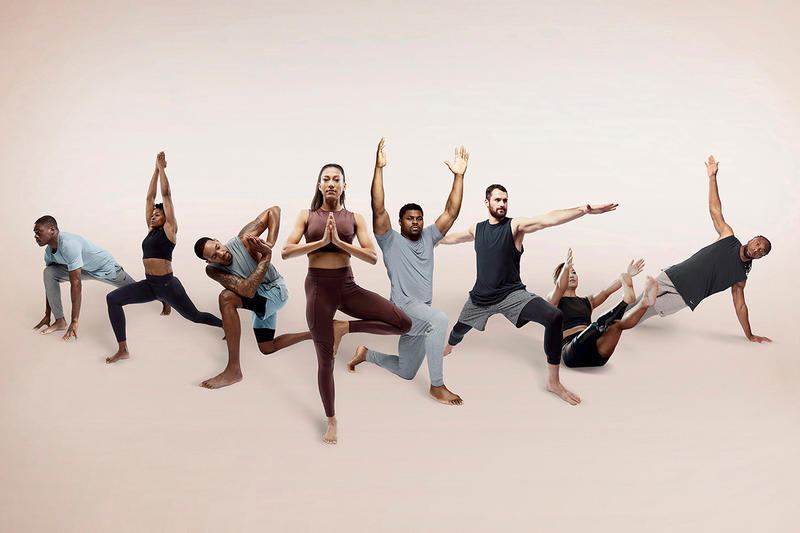 Nike Debuts Its First-Ever Yoga Line athletics lookbooks sports