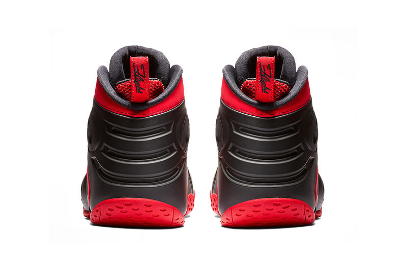nike zoom rookie university red white black 2019 january nike sportswear nike basketball penny hardaway
