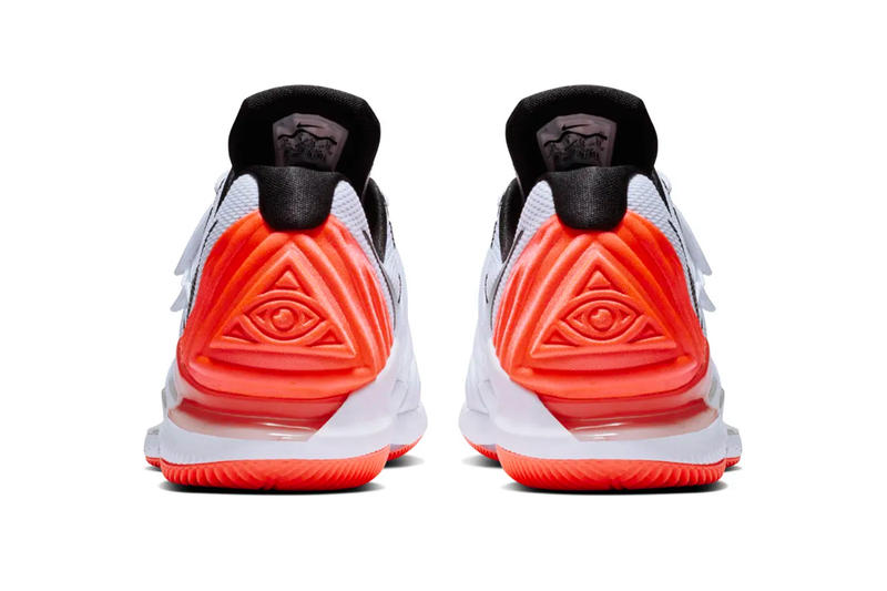 NikeCourt Vapor X Kyrie 5 Release Info Date Nick Kyrgios Kyrie Irving Australian tennis Boston Celtics Basketball Hot Lava Red White