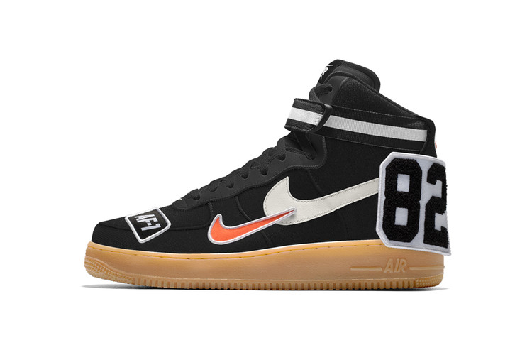 c3b33172c9 NIKEiD Now Lets You Add Patches to the Air Force 1