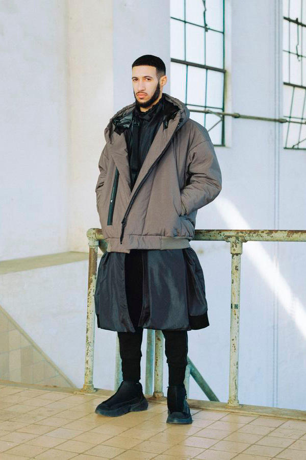 Niløs Fall/Winter 2019 Lookbook paris japan Julius outerwear japanese