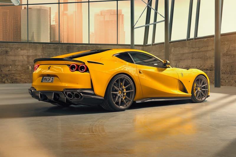NOVITEC Ferrari 812 Superfast Unveil Yellow