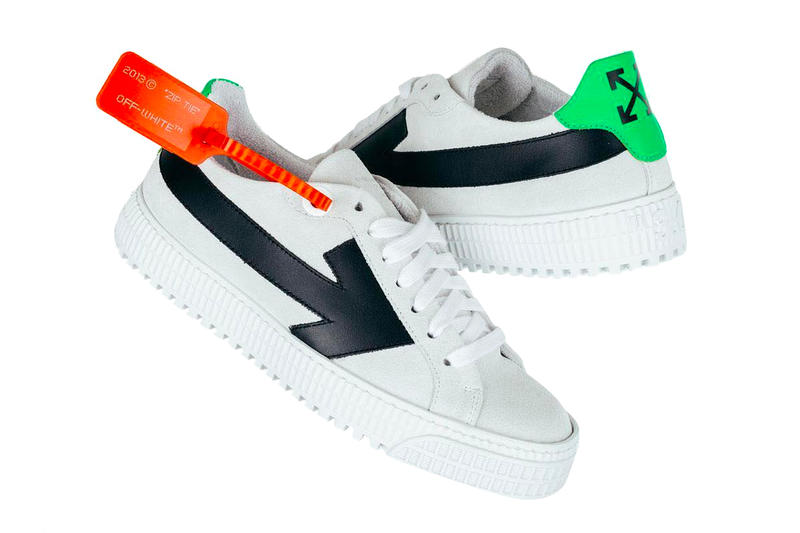 Off White Arrow Sneakers Preview Info kicks shoes virgil abloh fashion