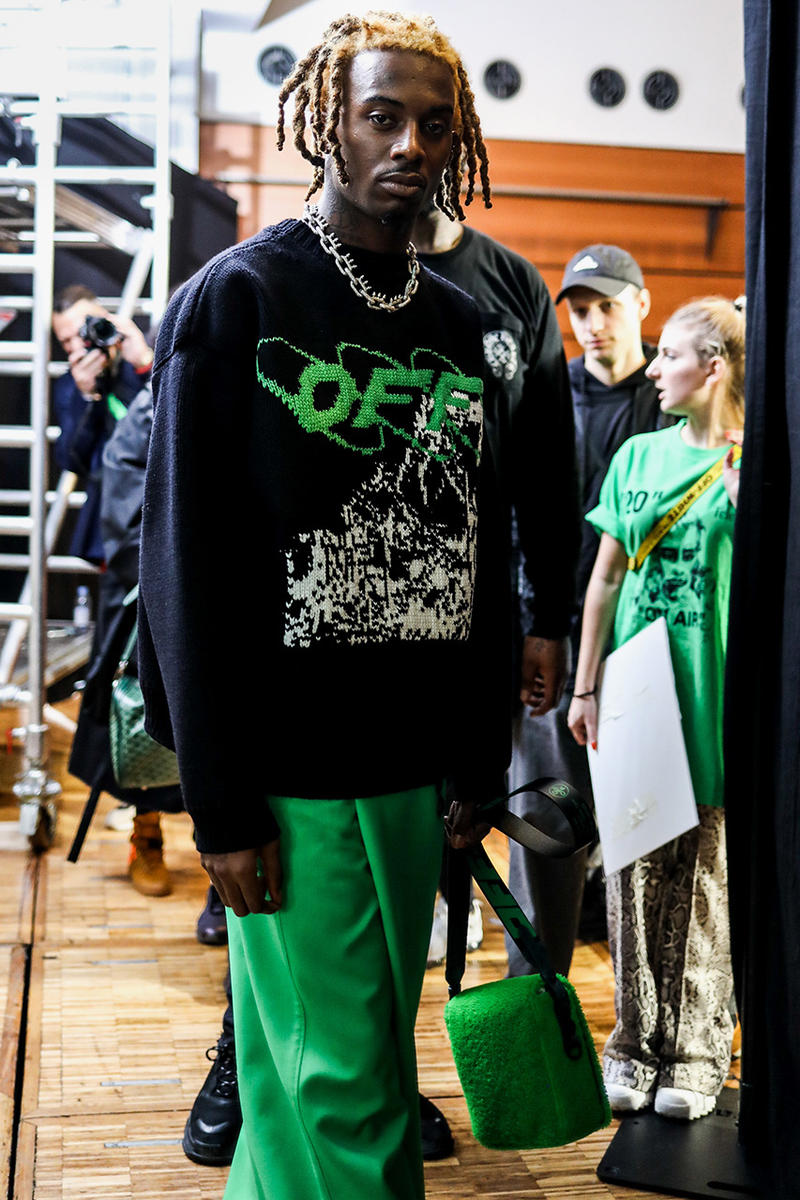 Off-White™ Fall Winter 2019 Runway Collection Paris Fashion Week Offset Playboi Carti virgil abloh