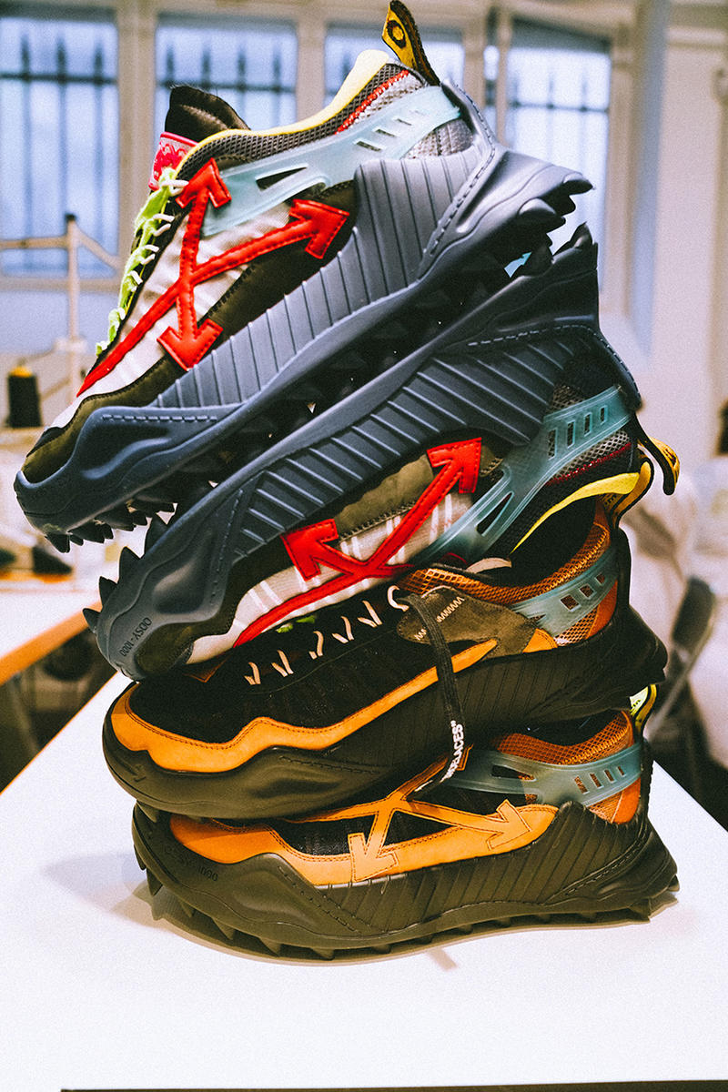 Off-White™ odsy 1000 vulcanized 2.0 sneakers paris drop release date buy info shoe running sneaker hotel costes