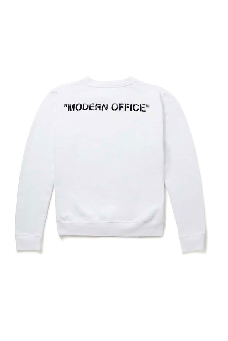 "Off-White™ Mr Porter Capsule Collection ""Modern Office"" Details Collab Collaborations Lookbooks"