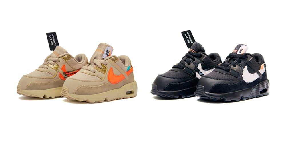 Off-White™ x Nike Air Max 90 Kids Size