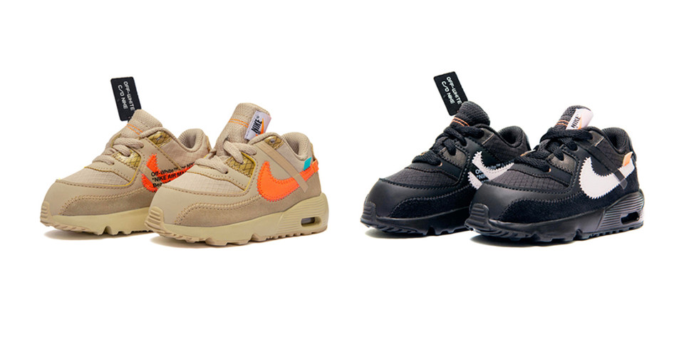 f81ccb3543fe Off-White™ x Nike Air Max 90 Kids Size Release