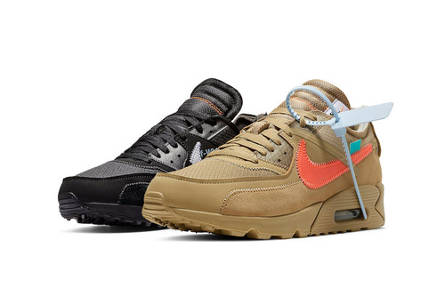 """Don't Miss Out on the Off-White™ x Nike Air Max 90 """"Black"""" and """"Desert Ore"""" on StockX"""