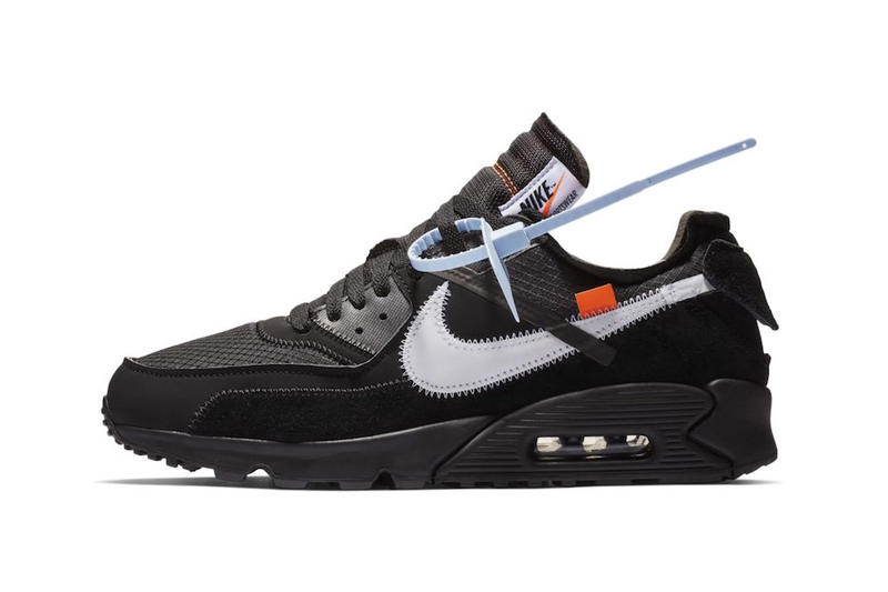 14258c28 Off-White™ x Nike Air Max 90 Now Available at StockX desert ore black